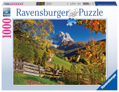 Ravensburger 19423 Puzzle Monte Pelmo, Venetien, Italien 1000 Teile