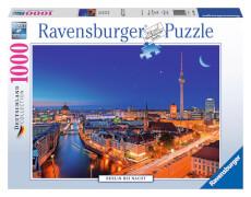 Ravensburger 19455 Puzzle Berlin bei Nacht 1000 Teile