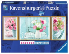 Ravensburger 194872  Puzzle Magic Flowers 1000 Teile Triptychon