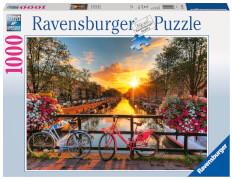 Ravensburger 19606 Puzzle Fahrräder in Amsterdam 1000 Teile