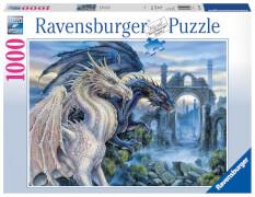 Ravensburger 19638 Puzzle: Mystische Drachen 1000 Teile