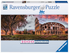 Ravensburger 15077 Puzzle Colosseum im Abendrot 1000 Teile