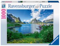 Ravensburger 19711 Puzzle Auf den Lofoten 1000 Teile