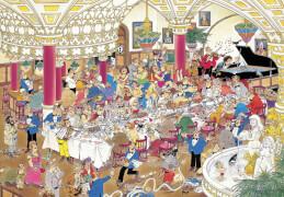 Jumbo 01642 Puzzle Jan van Haasteren, Alles Gute zur Hochzeit, 1000 Teile