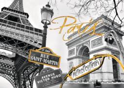 Ravensburger 19935 Puzzle Goldenes Paris mit Goldfarbe 1000 Teile