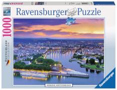 Ravensburger 19782 Puzzle: Koblenz, Deutsches Eck 1000 Teile