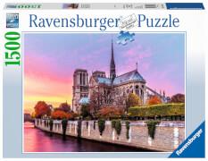 Ravensburger 16345 Puzzle Malerisches Notre Dame 1500 Teile