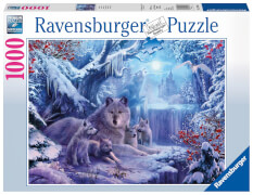Ravensburger 19704 Puzzle: Winterwölfe 1000 Teile