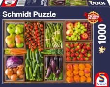 Schmidt Puzzle 58308 Frisch vom Markt, 1000 Teile, ab 12 Jahre