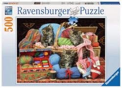 Ravensburger 14785 Puzzle: Flauschiges Vergnügen 500 Teile