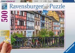 Ravensburger 13711 Puzzle Colmar in Frankreich 500 Teile