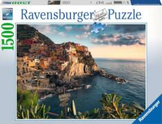Ravensburger 16227 Puzzle Blick auf Cinque Terre 1500 Teile