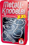 Schmidt Spiele 51234 Metall Knobelei XXL, Mitbringspiel in der Metalldose, ab 7 Jahre