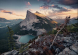 Ravensburger 15011 Puzzle: Abends in den Rocky Mountains 1000 Teile