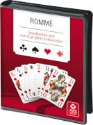 ASS Kartenspiel Rommé extra große Zeichen, 110 Karten, ca. 59x91 mm, 2-4 Spieler, ab 10 Jahre