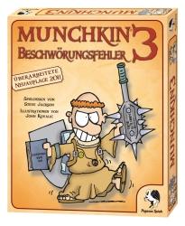 Pegasus Spiele Munchkin 3 Beschwörungsfehler