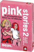 moses black stories Junior - pink stories - 50 verflixt verhexte Rätsel nur fü
