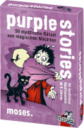 moses black stories Junior - purple stories - 50 mystische Rätsel von magische