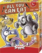 AMIGO 01804 All You Can Eat, Kartenspiel, für 3-6 Spieler, Spieldauer: ca. 15 Min, Für Kinder ab 7 Jahren.