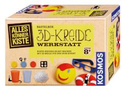 KOSMOS Bastelbox 3D-Kreide-Werkstatt