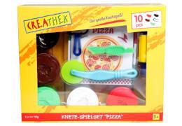 Creathek Knete-Spielset Pizza, 10-teilig