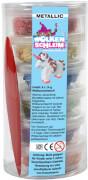 Wolkenschleim® Metallic-Set 6 Dosen á 14 Gramm