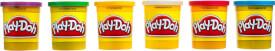 Hasbro Play-Doh 6er Pack Grundfarben