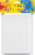 HAMA Bügelperlen Midi - Stiftplatten im Beutel - Buchstaben, Zahlen