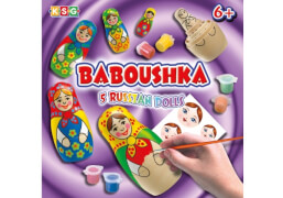 Baboushka Russian Dolls - basteln und malen