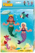 HAMA kleine Geschenkpackung Meerjungfrauen, 2.000 Stück