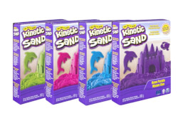 Spin Master Kinetic Sand Sand Neon Pack 680 g farblich sortiert