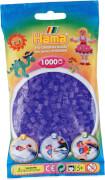 HAMA Bügelperlen Midi - Transparent Flieder 1000 Perlen