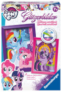 Ravensburger 183395 Glitzerbilder My little Pony, Bastelset