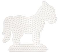 HAMA 281 Bügelperlen Midi - Stiftplatte Pferd, ab 5 Jahren