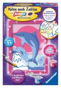 Ravensburger 296088 Malen nach Zahlen Delfin