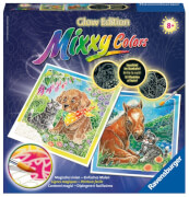 Ravensburger 294336 Mixxy Colors Glow Edition: Tierliebe