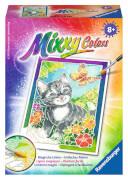Ravensburger 29110 Mixxy Colors Katze und Schmetterling