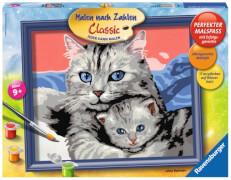 Ravensburger 283903  Malen nach Zahlen - Katzenliebe