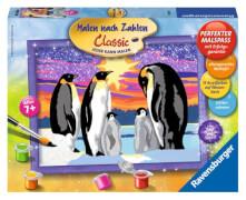 Ravensburger 282579  Malen nach Zahlen - Pinguinfamilie