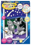 Ravensburger 27847 Malen nach Zahlen: Hund und Katze