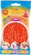 HAMA 207-04 Bügelperlen Midi, orange, 1.000 Stück, ab 5 Jahren