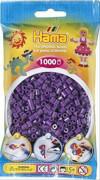 HAMA 207-07 Bügelperlen Midi, lila, 1.000 Stück, ab 5 Jahren