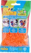 HAMA 207-38 Bügelperlen Midi - Neion Orange 1000 Perlen, ab 5 Jahren