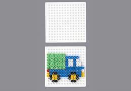 HAMA Bügelperlen Midi - Stiftplatte kleines Quadrat