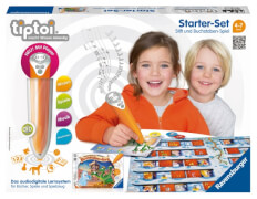 Ravensburger 5055 tiptoi® - Starter-Set: Stift und Buchstaben-Spiel