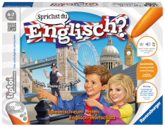 Ravensburger 007868 tiptoi® Sprichst du Englisch? Interaktives Lernspiel