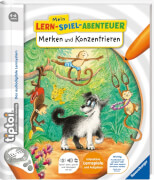 Ravensburger 006762 tiptoi® Buch Merken und Konzentrieren, Interaktives Lern-Spiel-Abenteuer
