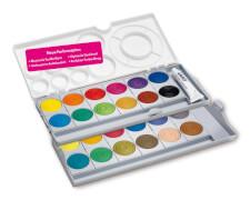 Lamy 1222001 Deckfarbkasten aquaplus 24 Farben mit Deckweiß