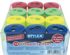 Stylex Doppelspitzer für dicke und dünne Stifte, 4-fach sortiert