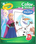 Crayola Disney Frozen - Die Eiskönigin Color & Stickerbox